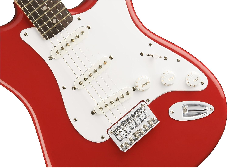 Fender Squier Bullet Stratocaster Fiesta Red: Amazon.es: Instrumentos musicales