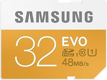 Amazon.com: Samsung 32 GB Evo tarjeta SDHC de clase 10 de ...