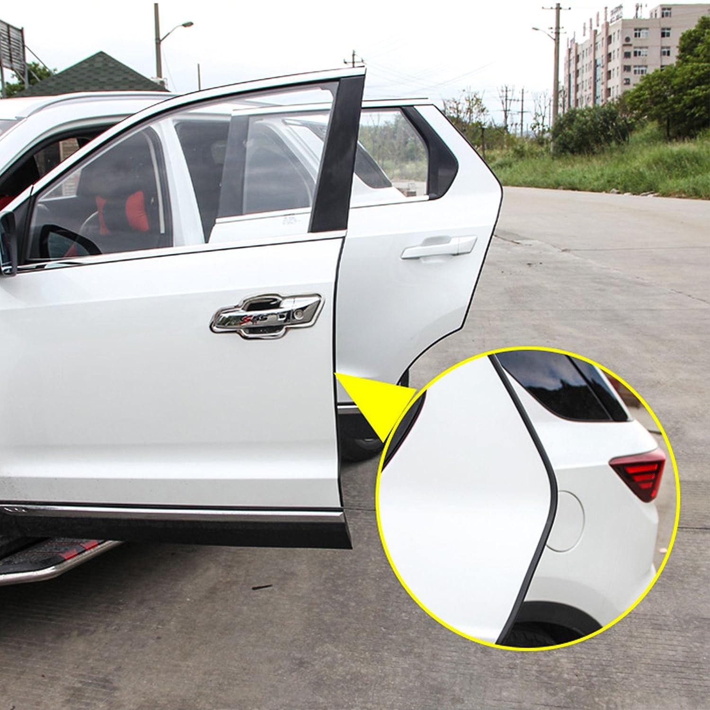 OUERKEJI Car Door Edge Protector,16Ft Car Door Edge Guards U Shape Edge Trim Rubber Seal Protector Car Protection Door Edge Fit for Most Car Black 5M