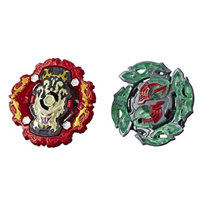 BEYBLADE Burst Rise Hypersphere Dual Pack Viper Hydrax H5 & Dullahan D5 -- 1 Left-Spin & 1 Right-Spin Battling Top Toy, Ages 8 & Up: Toys & Games