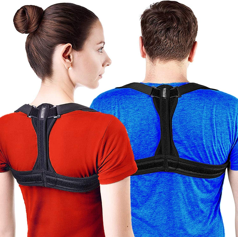 Corrector De Postura Y Sujeción De Espalda Modetro Sports – Corrector De Espalda Funciona De Fisioterapia Para Hombres O Mujeres – Alivio Del Dolor De Espalda, Hombros, Y Cuello