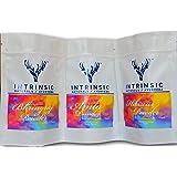 Intrinsic Amla Bhringraj Hibiscus Powder for Hair Growth, 210g (AmHiBh_E)