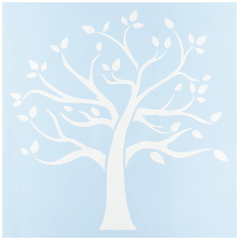 Clear Scraps Plastic Stencils 12-inch x 12-inch Family Tree CSSM12-FMTRE