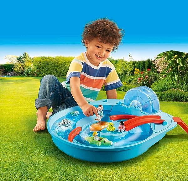 Playmobil 1.2.3 Aqua Splish Splash Water Park