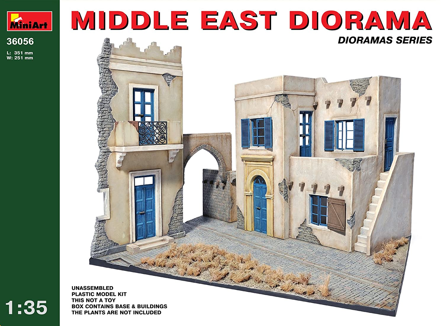 MiniArt - Maqueta de Edificio, 1:35 (36056): Amazon.es ...