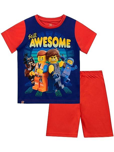 LEGO Movie Pijamas de Manga Larga para niños película