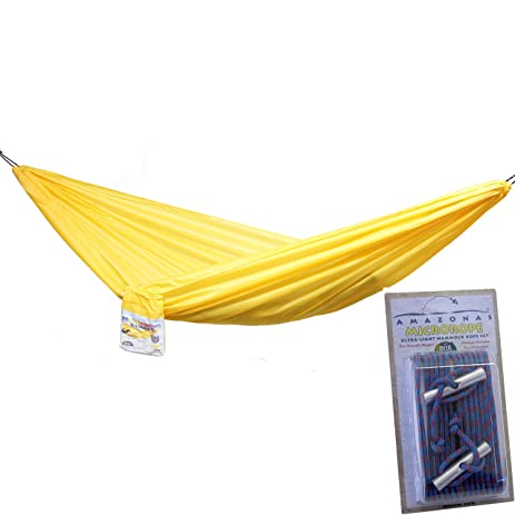 traveller lite camping hammock lightweight hammock and micro rope hanging system by byer of maine amazon    traveller lite camping hammock lightweight hammock      rh   amazon