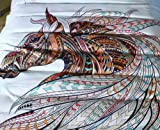 Hihotel 3D Watercolor Animal Print Bedding Sets