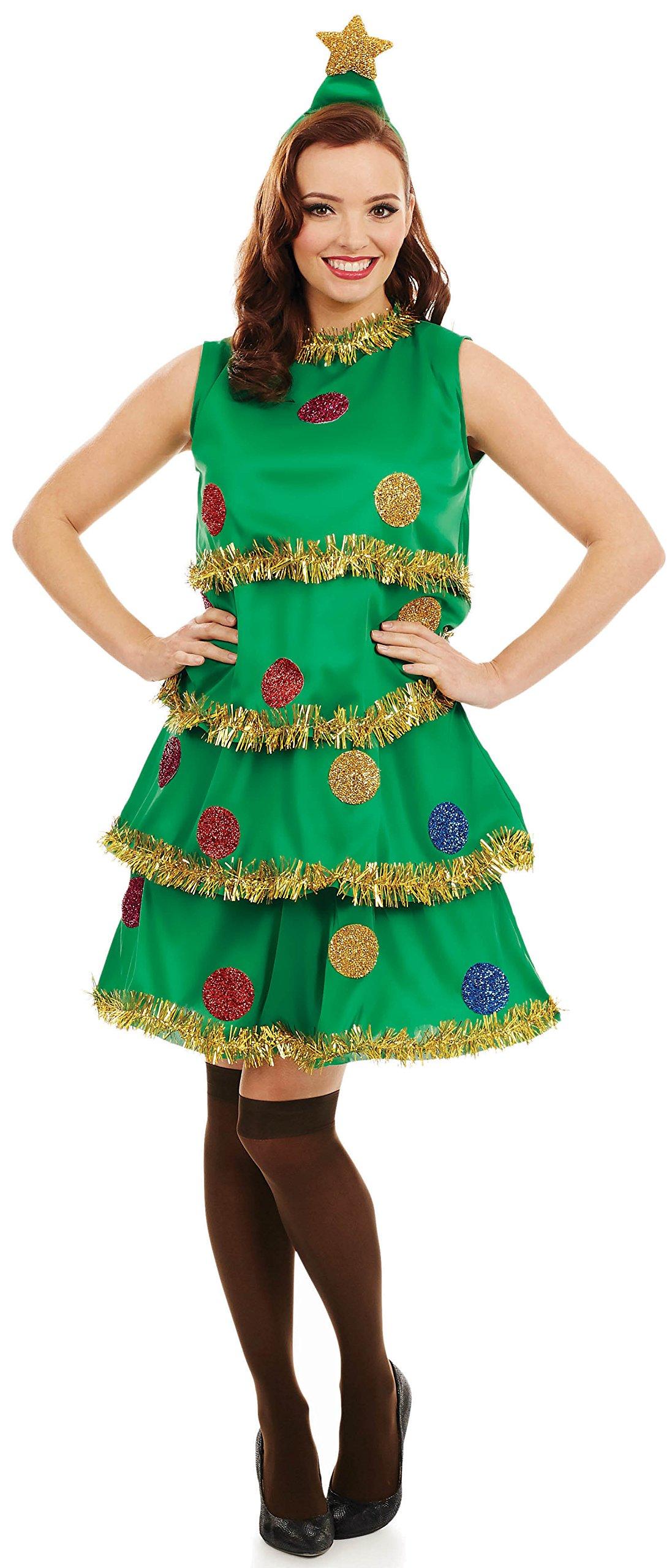 Christmas Tree Lady Christmas Costume  sc 1 st  Amazon UK & Tree Costume: Amazon.co.uk