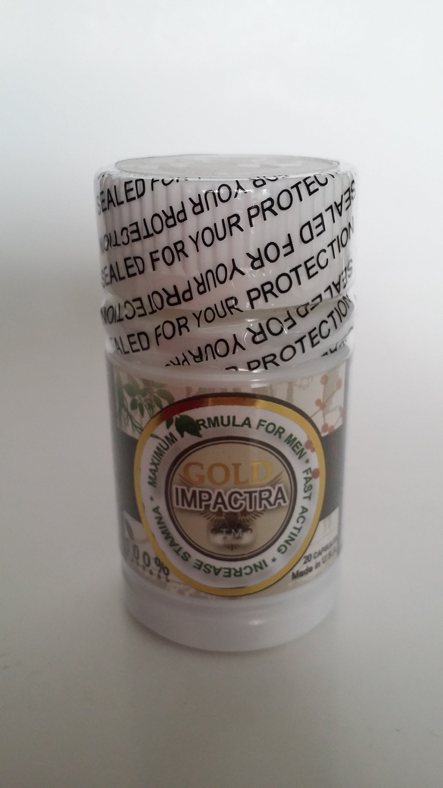 Gold Impactra Increase stamina Herbal 100% Natural