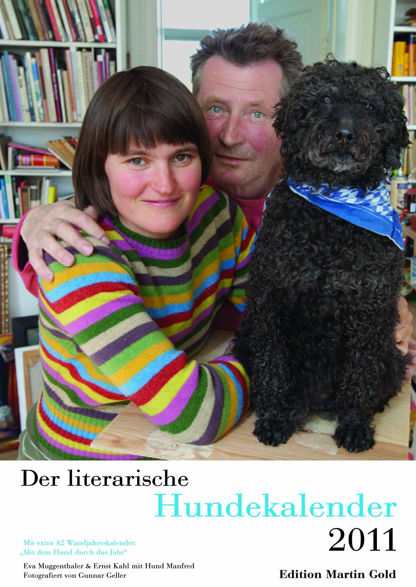 Der literarische Hundekalender 2011: Wochenkalender