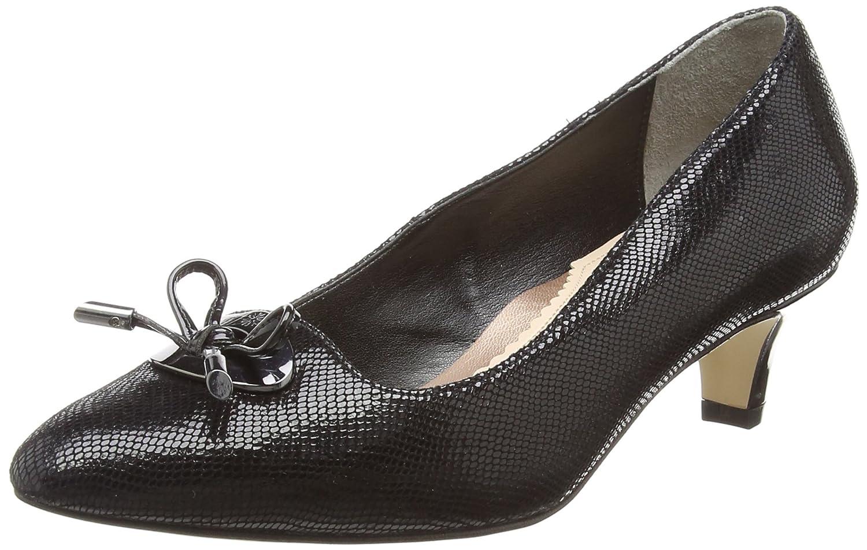 Noir Noir (noir Reptile Print Patent 140) Van Dal Pye, Escarpins Bout fermé Femme  économiser jusqu'à 80%