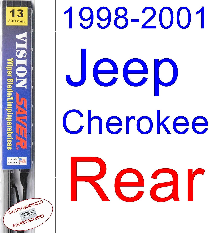 Amazon.com: 1998-2001 Jeep Cherokee Wiper Blade (Driver) (Saver Automotive Products-Vision Saver) (1999,2000): Automotive