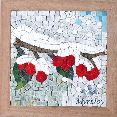 DIY MOSAIC ART KIT For Adults: Four Seasons Winter 9u0026quot;x9u0026quot;   Italian