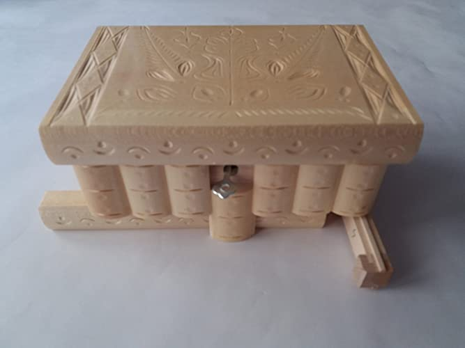 c8af7cf1a9cbc0 New natural big puzzle box magic mystery secret box tricky ...