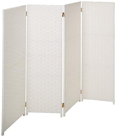 Amazoncom Oriental Furniture 4 Ft Tall Woven Fiber Room Divider