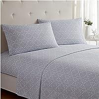 Mellanni Bed Sheet Set Brushed Microfiber 1800 Bedding - Deep Pocket, Wrinkle, Fade, Stain Resistant - Hypoallergenic