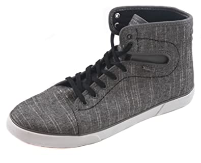Hadley Womens Skateboarding Shoes Chambray Pewter Black Womens