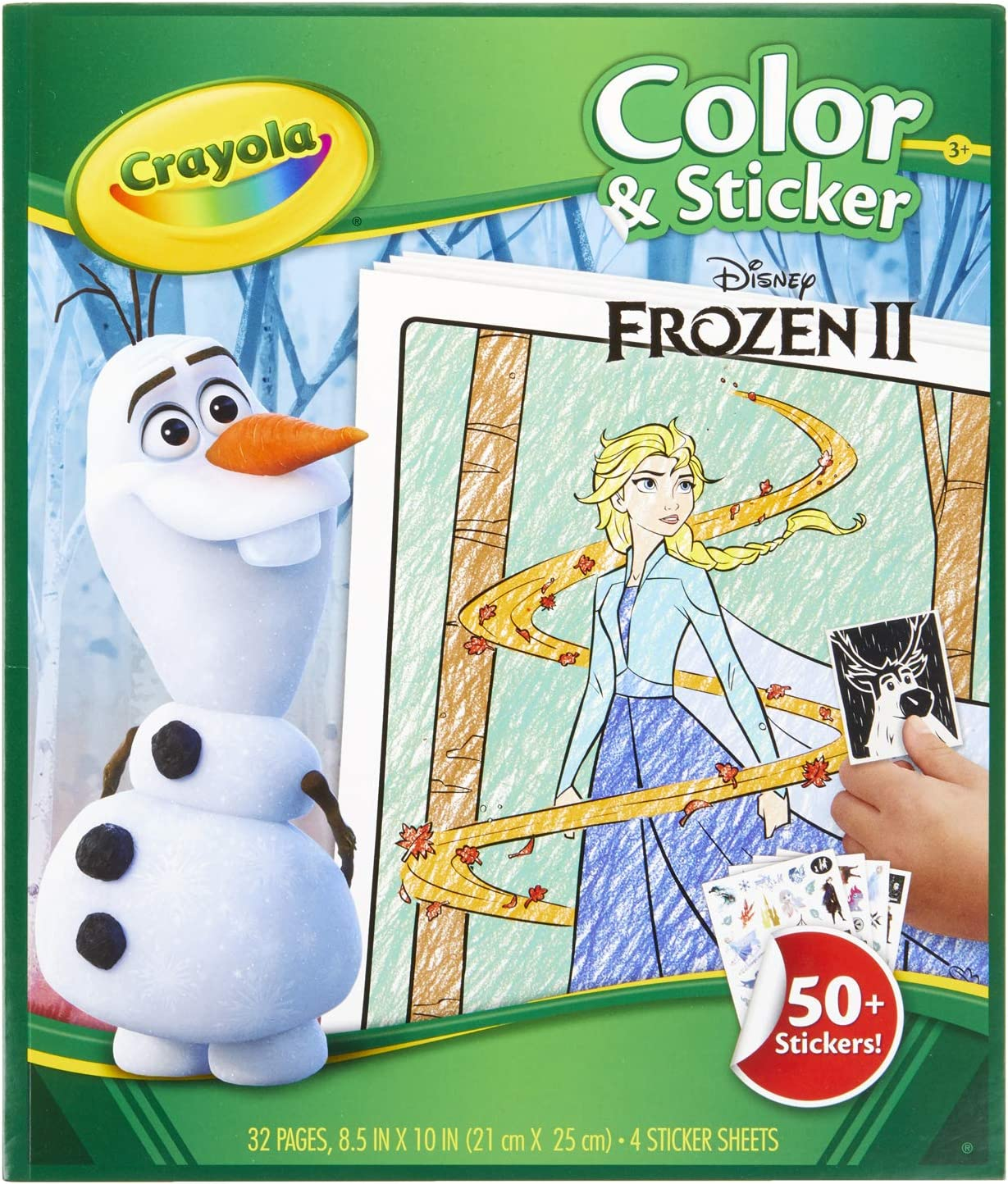 Crayola - Frozen Giant Colouring Pages | 1457x1236