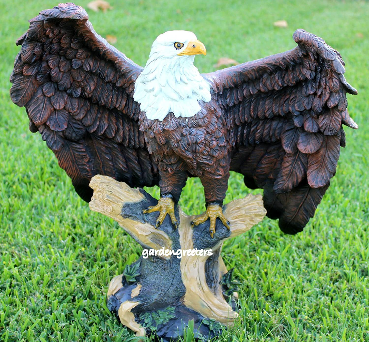 Captivating Amazon.com : LARGE AMERICAN EAGLE STATUE   LARGE EAGLE : Outdoor Statues :  Garden U0026 Outdoor