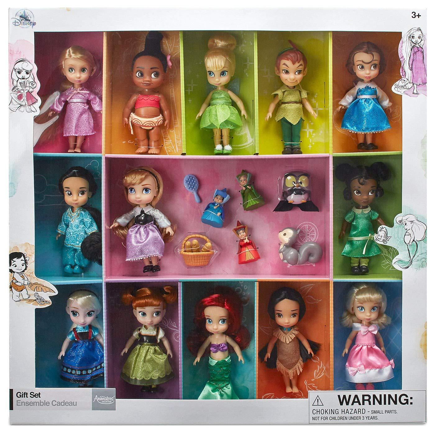 若者の大愛商品 Disney - Animators' B07GHSV5HM Collection Disney Mini Doll Gift Set - 13cm B07GHSV5HM, ジムニーアルマージ:ba3d62b1 --- pmod.ru