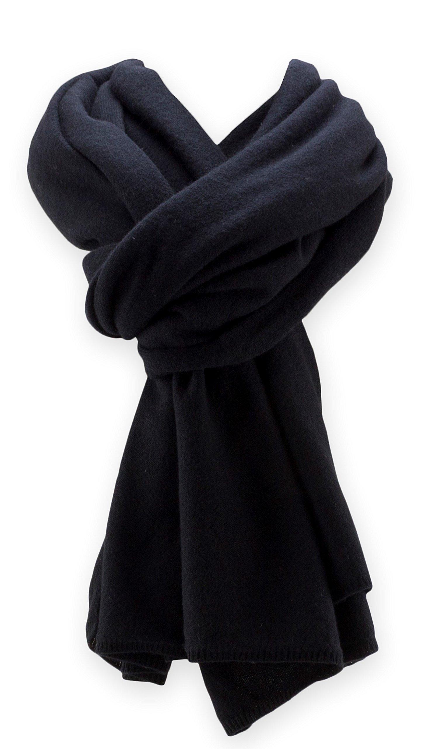 Jet&Bo 100% Pure Cashmere Travel Wrap, Scarf & Blanket