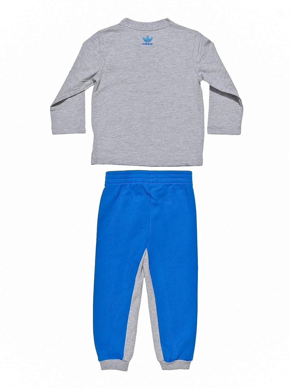 adidas Chándal Originals Azul/Gris 6-9 Meses (68/74 cm): Amazon.es ...