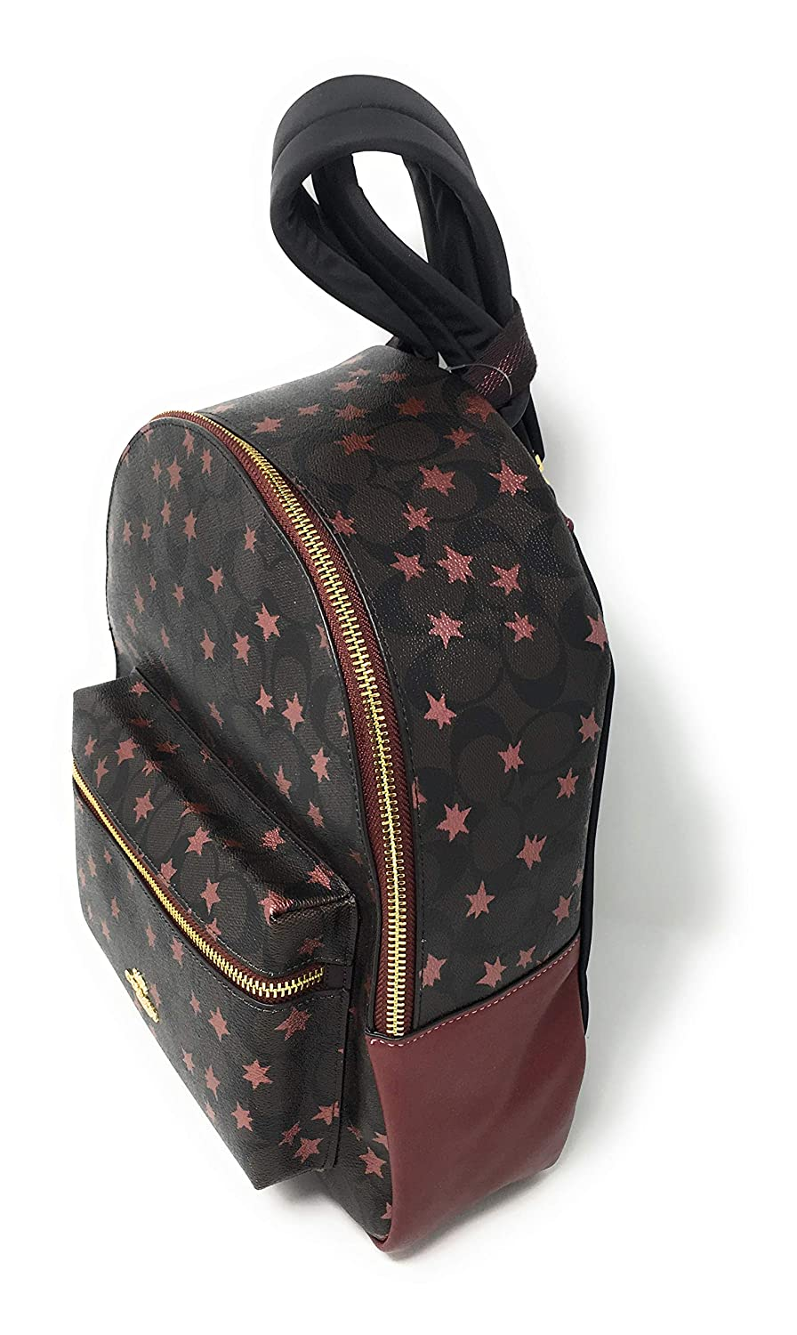 COACH F39645 MEDIUM CHARLIE BACKPACK IN SIGNATURE CANVAS WITH POP STAR PRINT