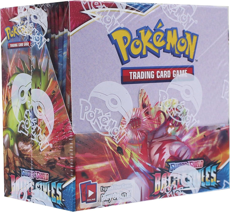Pokemon TCG: free shipping Sword Shield Battle Box Booster Cheap Styles