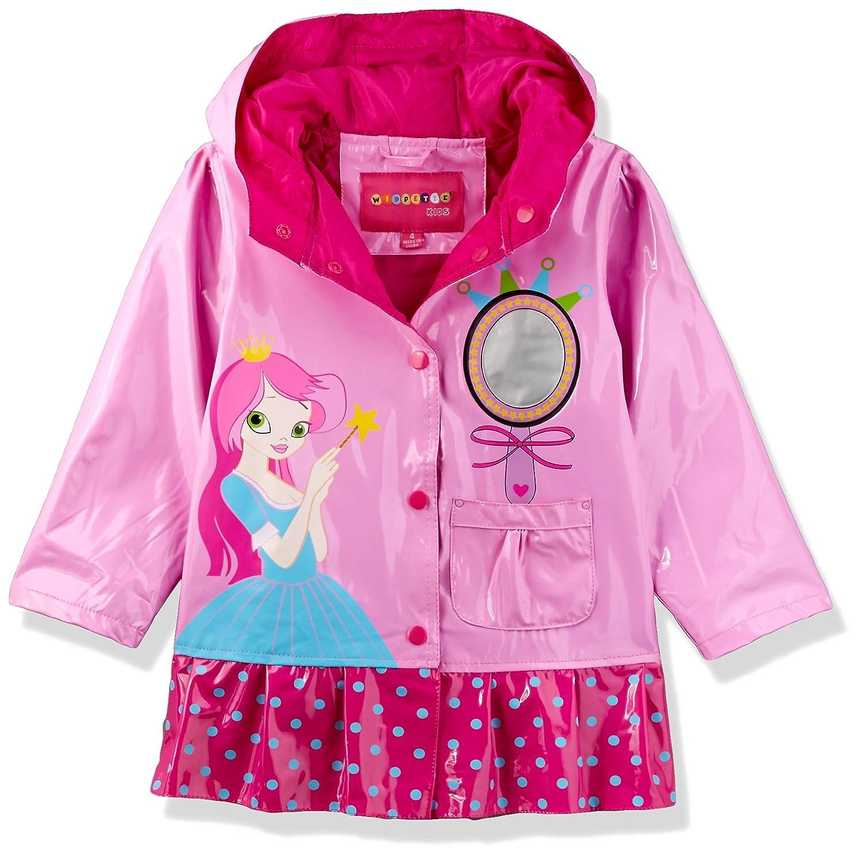 Amazon.com: Wippette Princesa de las niñas Raincoat: Clothing