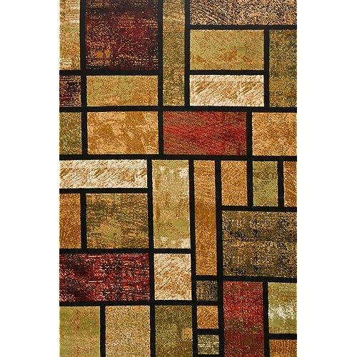 Rust Color Area Carpet Amazon Com