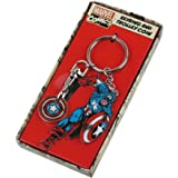 Keyring Trolley Coin Metal (Boxed) - Marvel (Captain America