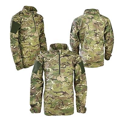 Kids Btp Multicam Ubacs Under Armour Shirt Childrens Army Military
