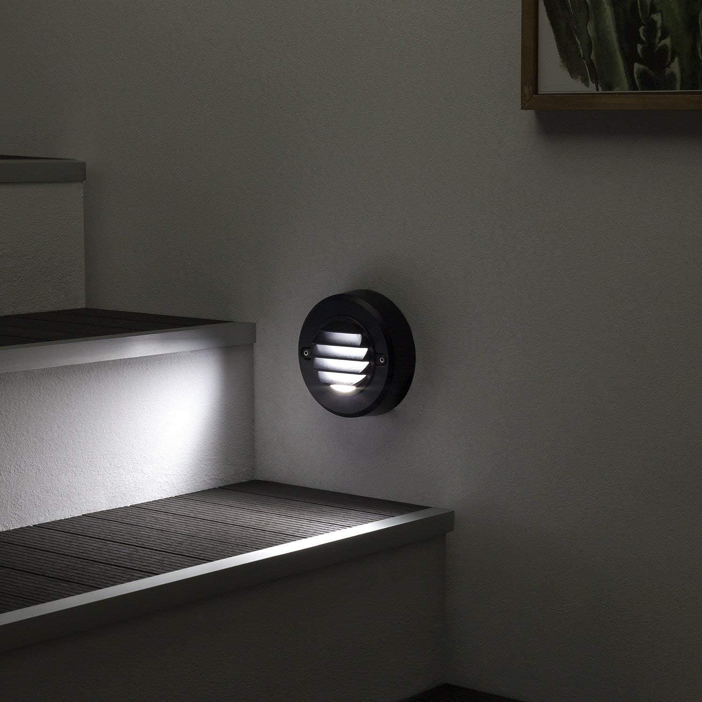 LEDKIA LIGHTING Baliza LED Ares 3.5W Blanco Cálido 3000K: Amazon.es: Iluminación
