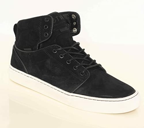7e2662d3abab Vans Men s Alomar Shoes Waxy Black (Oiled) Size 12 UK  Amazon.co.uk ...