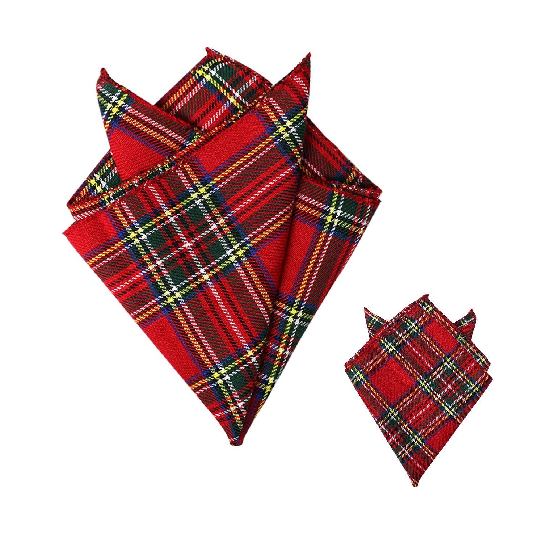 "Burns Night Red Tartan Sash//6/"" bow//sash /& bow  Scottish Plaid Royal Stewart"