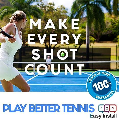 Helix - Amortiguador de vibraciones de tenis conjunto de 3 - Ultimate Shock absorber para raqueta de tenis | mejor tecnología para su cuerdas | garantizada ...
