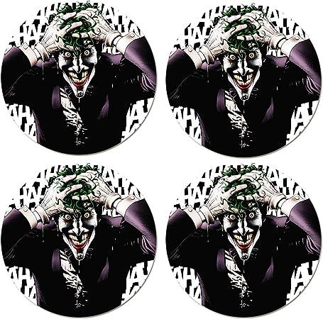 4pcs X 70 Mm Joker Punisher Radkappen Aufkleber Auto Rad Radkappen Aufkleber Nabenkappen Nabendeckelc Sticker Stickers Autoaufkleber Autosticker Deko Autos Auto Tuning Auto Deko Auto