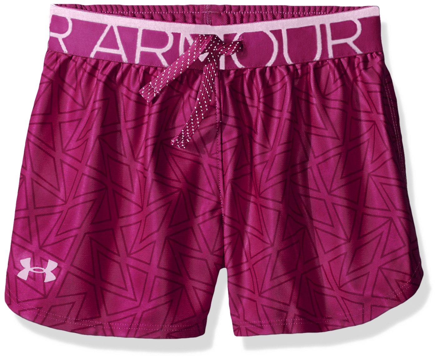 Under Armour Printed Play Up Short, Pantaloncino Bambina 1275288