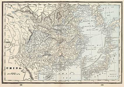 Amazon 1893 world atlas china to accompany the columbian 1893 world atlas china to accompany the columbian worlds fair atlas gumiabroncs Choice Image