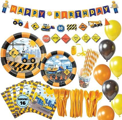 Dump Truck Party Favor Construction Party Cups - Dump Truck Party Cups Construction Party Dump Truck Party Favor Cups Set of 12