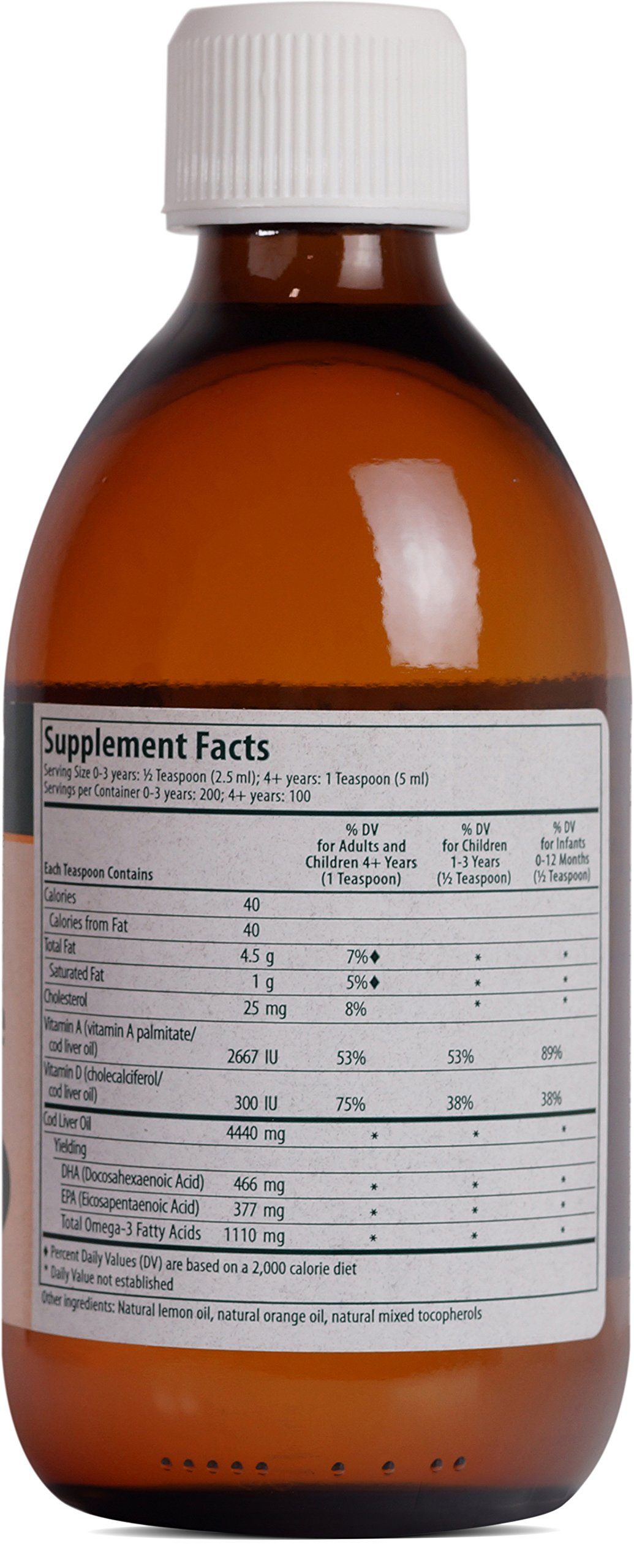 Genestra Brands - Cod Liver Oil Forte - Vitamin + Essential Fatty Acid Supplement - 16.9 fl oz (500 ml) by Genestra Brands (Image #2)