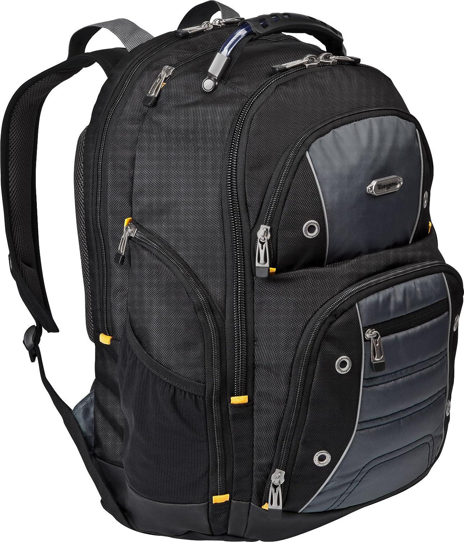 Targus Drifter II Backpack for 17-Inch Laptop, Black/Grey (TSB239US)