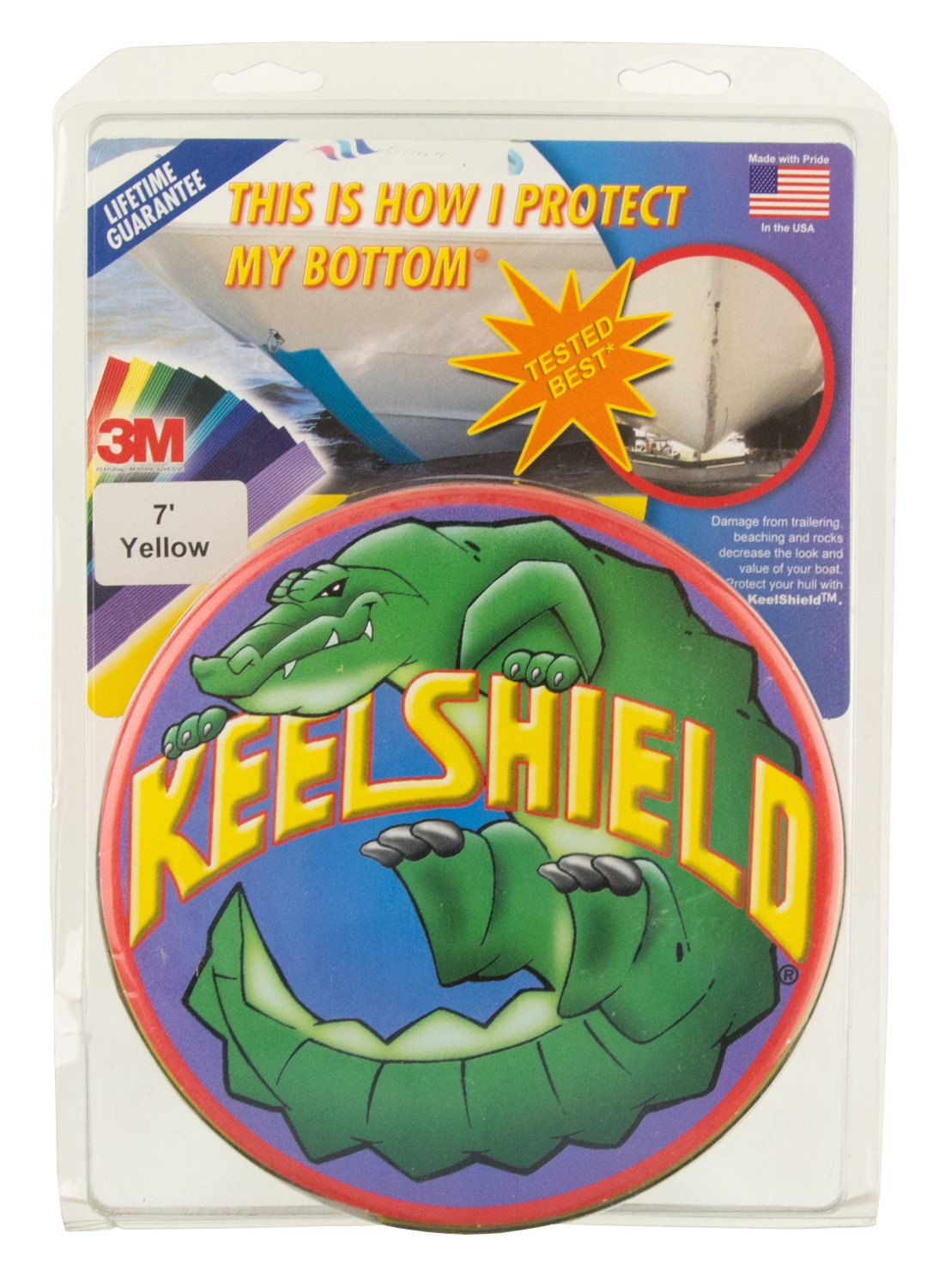 LIGHT GRAY- KeelShield Hull Protector 3M 6 ft.