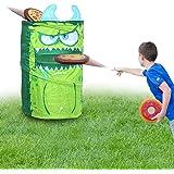 KreativeKraft Juego Lanzamiento del Monstruo Verde! | Juguete Jardin Niños para Fiestas De Verano | Juguete Exterior…