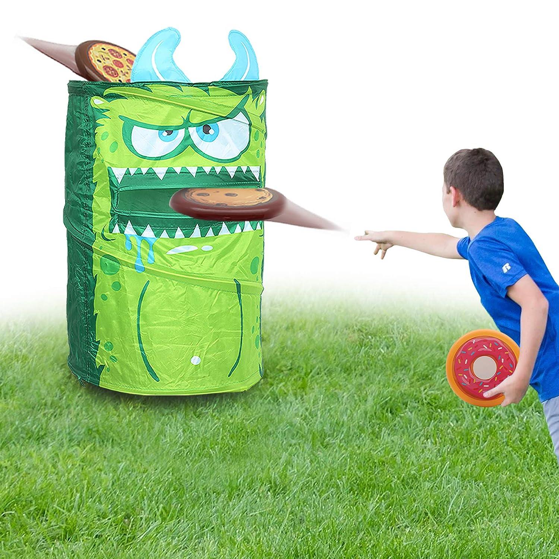 KreativeKraft Juego Lanzamiento del Monstruo Verde! | Juguete Jardin ...