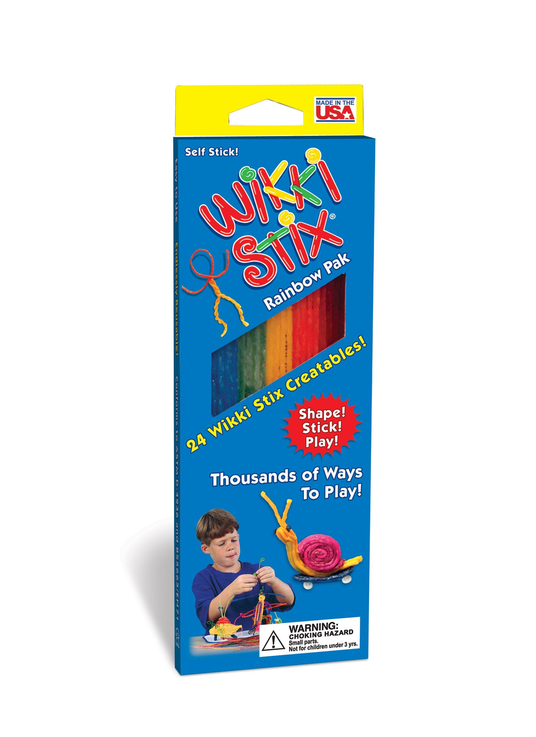 Rainbow Wikki Stix Party Pak - 3 Pack