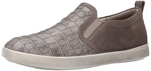 343a5281781 ECCO Footwear Womens Women's Aimee Casual Slip On, Moon Rock, 38 EU ...