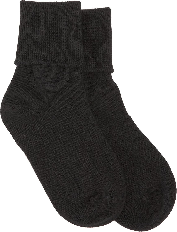 Jefferies Socks Little Girls School Uniform Seamless Socks Pack of Six Pairs