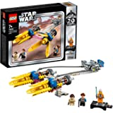 LEGO Star Wars: The Phantom Menace Anakin's Podracer – 20th Anniversary Edition 75258 Building Kit